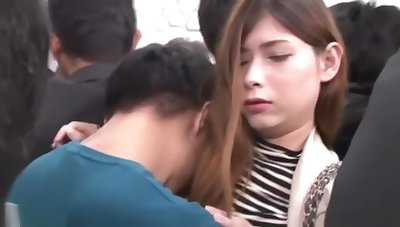 Japanese girl get fuck with her jeans 4