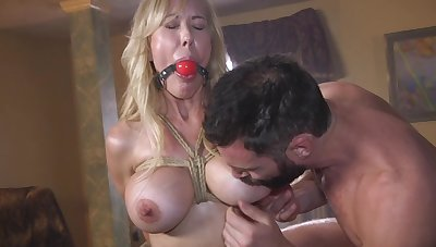Mature fucked merciless in scenes of maledom