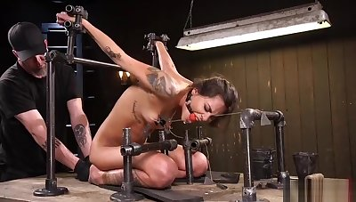 Godly Kacie Castle acting in amazing BDSM porn