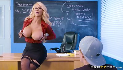 Misspend teacher Nicolette Shea rides student's chunky weasel words