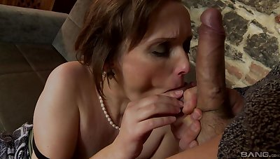 Mature wants this monster up her ass