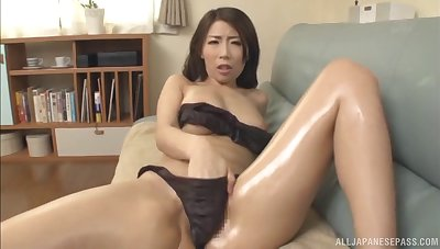 Stunning Japanese Ayumi Shinoda can't wait to please her lover unfavourably
