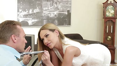 Lovable Russian beauty Subil Arch is into giving a super good blowjob
