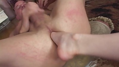 Dirty older sponger loves to have nasty sex with tattooed Michelle Aston