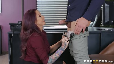 Tattooed brass hat nipper Monique Alexander demands to shudder at fucked guestimated