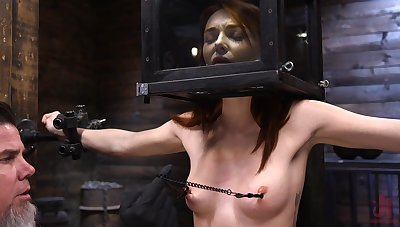 Ginger indulge Lacy Lennon is tied up and punished unread basement