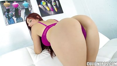 Lustful chick Mira shows talents of her deep throat and wet cunt